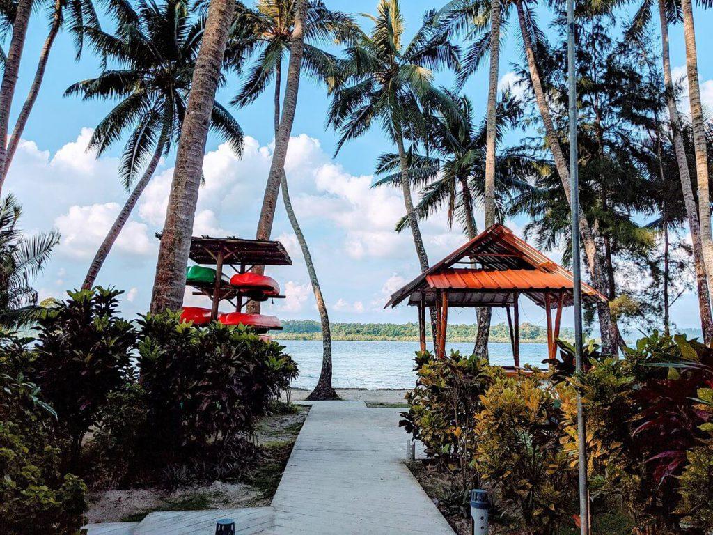 Eco Villa Palm beach Resort in Andaman